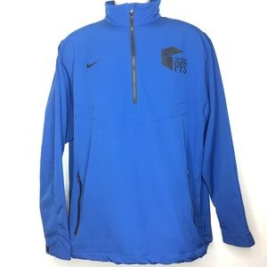 Nike Golf PFS Blue Pullover Size Large